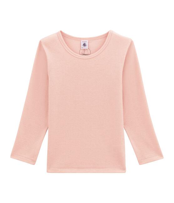 Camiseta de manga larga en lana y algodón JOLI
