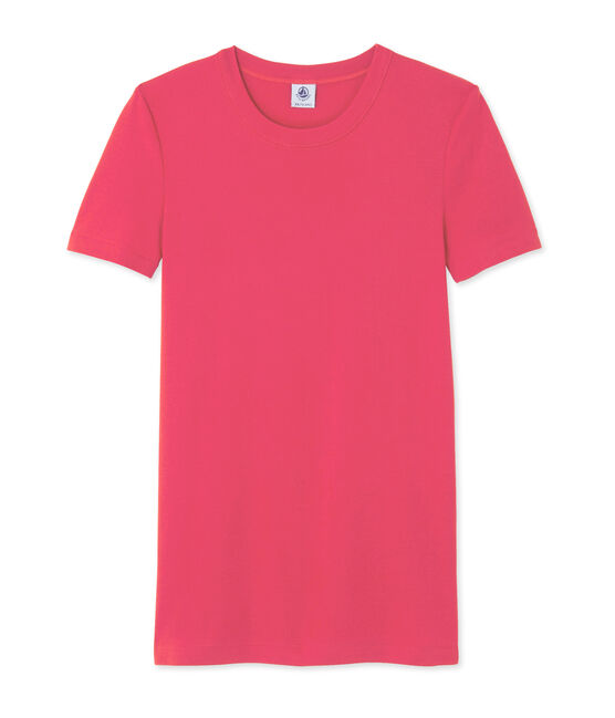 Camiseta de manga corta para mujer rosa Gloss