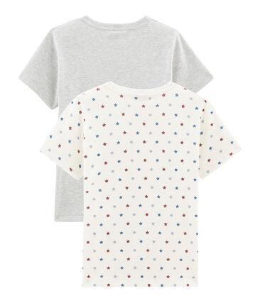 Par de camisetas de manga corta infantiles para niño lote .