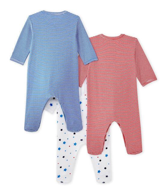 Lote de 3 pijamas para bebé niño lote .