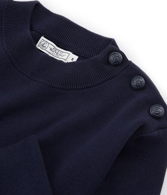 Jersey azul marino para hombre liso SMOKING