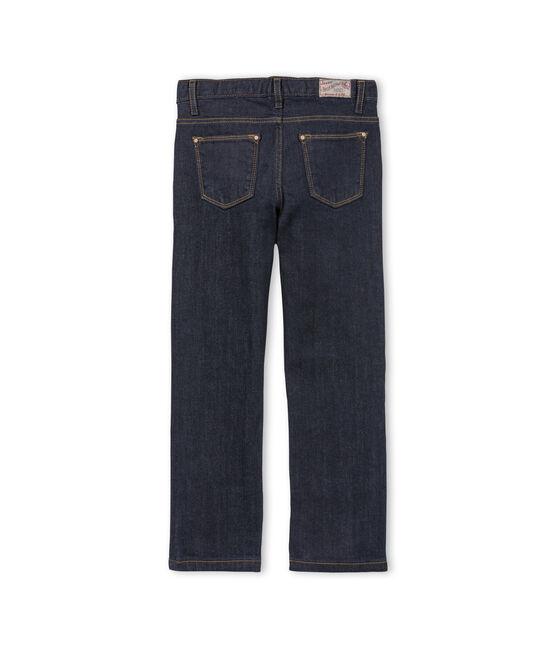 Pantalón vaquero infantil para niña azul Jean