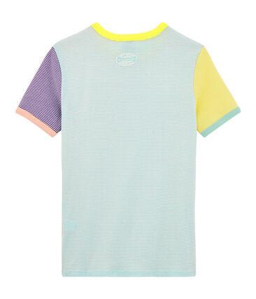 Camiseta icónica para mujer blanco Multico