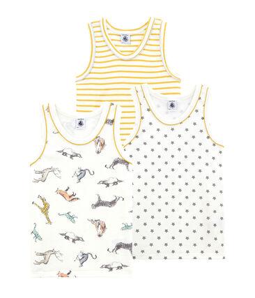 Pack de 3 camisetas sin mangas para niño