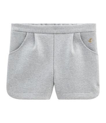 Shorts de niña gris Subway