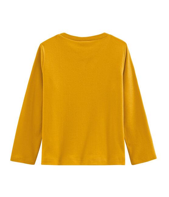 Camiseta de manga larga para niño amarillo Boudor