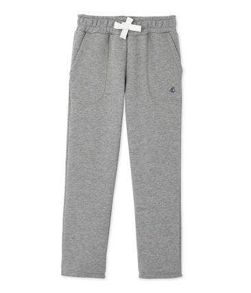 Pantalón de muletón gris Subway Chine