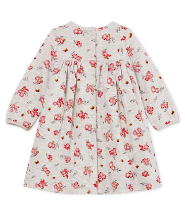 Vestido de manga larga estampado para bebé niña