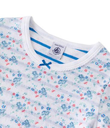 Pijama de túbico reversible para niña