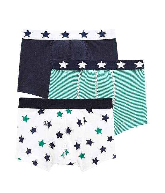 Pack de 3 boxers para niño lote .