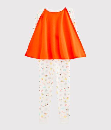 Buzo de disfraz para niño blanco Marshmallow / blanco Multico