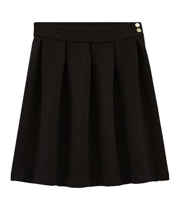 Falda para mujer negro Noir