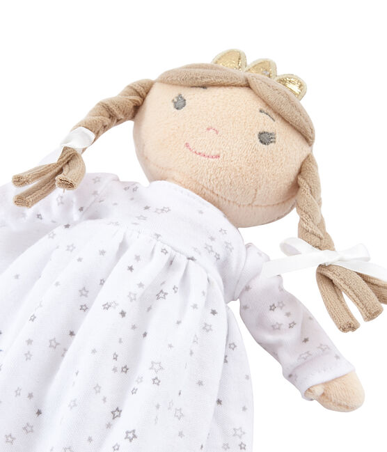 Muñeca para niña blanco Marshmallow / blanco Multico