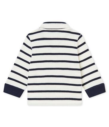 Polo a rayas marineras para bebé niño