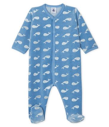 Pijama de terciopelo para bebé niño