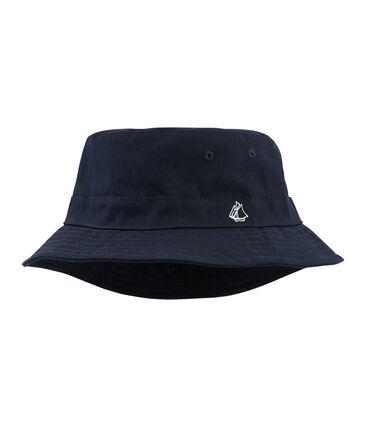 Sombrero bob de sarga para peque mixto azul Smoking