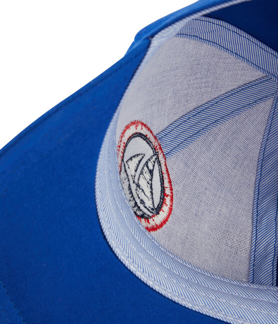 Gorra de sarga niño azul Surf