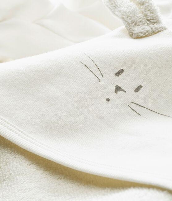 Cajita de baño con pahucos para bebé mixto blanco Marshmallow