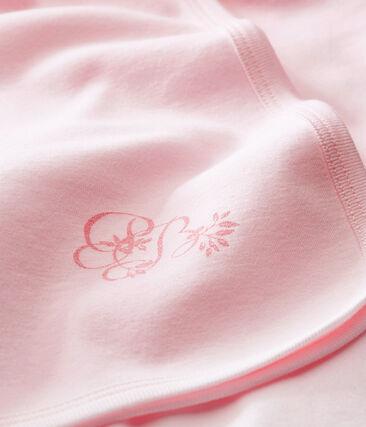 Manta de maternidad para bebé mixto rosa Vienne