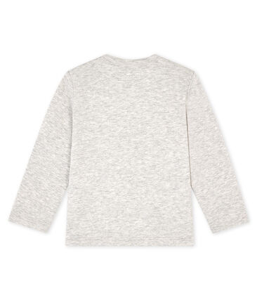 Camiseta de manga larga para bebé niño gris Beluga