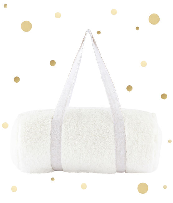 Bolsa en sherpa blanco Marshmallow