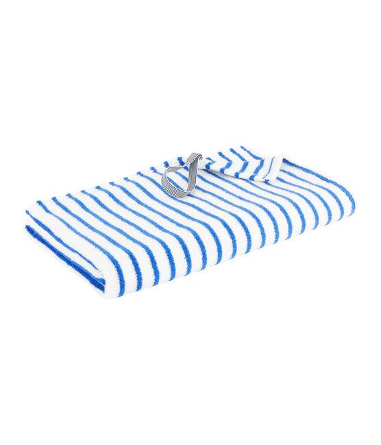 Toalla de playa peque/adulto azul Surf