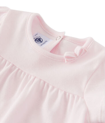 Camiseta para bebé niña rosa Vienne