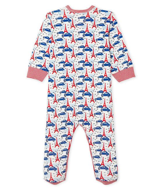 Pijama de punto para bebé de niño blanco Marshmallow / blanco Multico