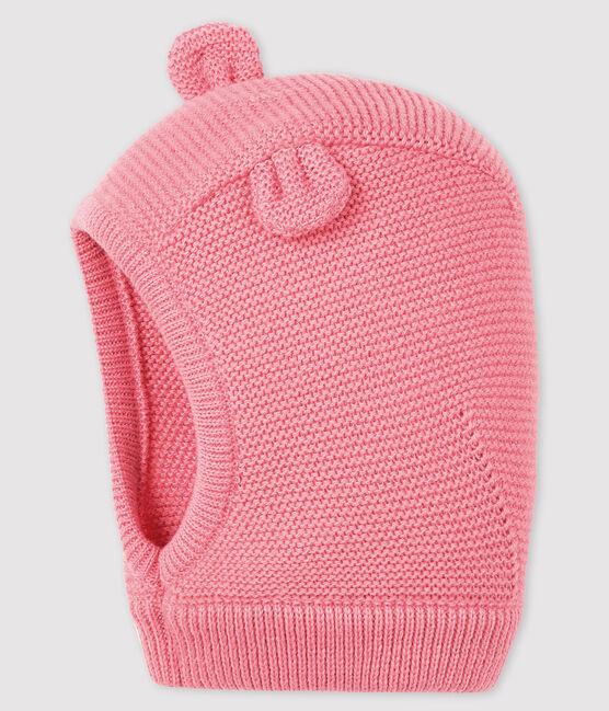 Capucha lisa para bebé niña/niño rosa Cheek