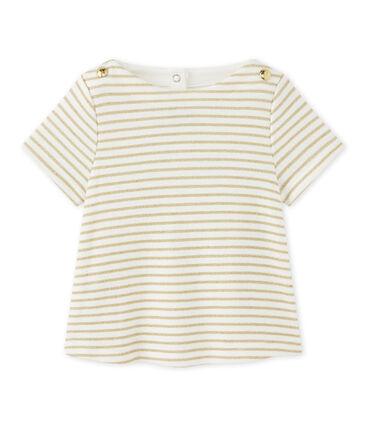 Camiseta bebé niña a rayas