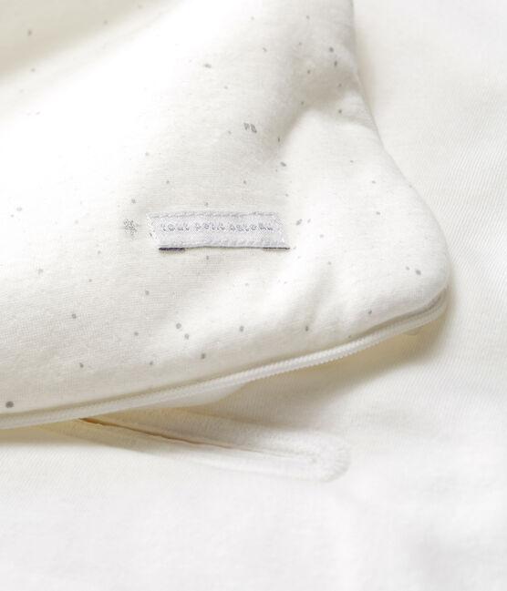 Nana para bebé de túbico blanco Marshmallow / blanco Multico