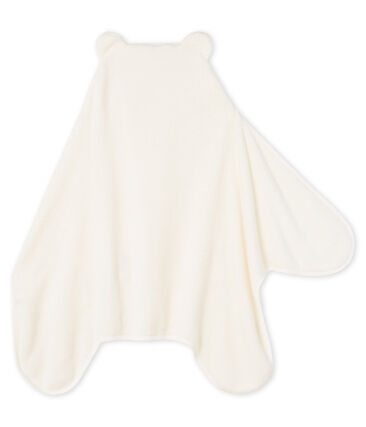 Capa/Manta de polar para niño blanco Marshmallow / azul Medieval