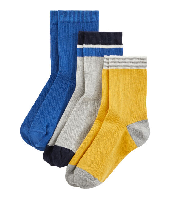 Lote de 3 pares de calcetines infantiles para niño lote .