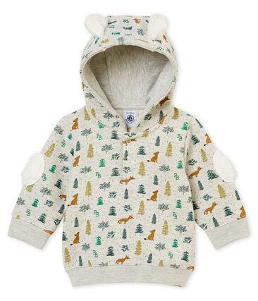 Sudadera con capucha para bebé niño estampada