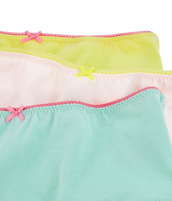 Tres culottes para chica lote .