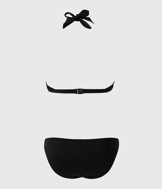 Traje de baño de 2 piezas negro negro Noir