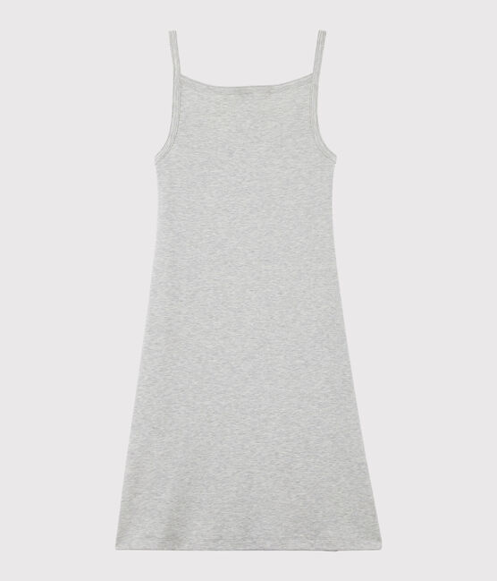 Vestido de tirantes para mujer gris Beluga