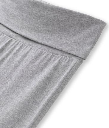 Pantalón de baile de jersey lycra liso para mujer