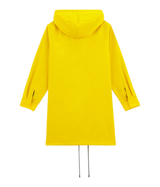 Chubasquero parka para mujer amarillo Jaune