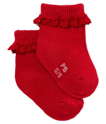 Calcetines de encaje para bebé niña