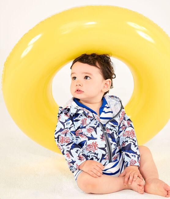 Cortavientos anti-UV UPF 50+ bebé unisex blanco Marshmallow / blanco Multico