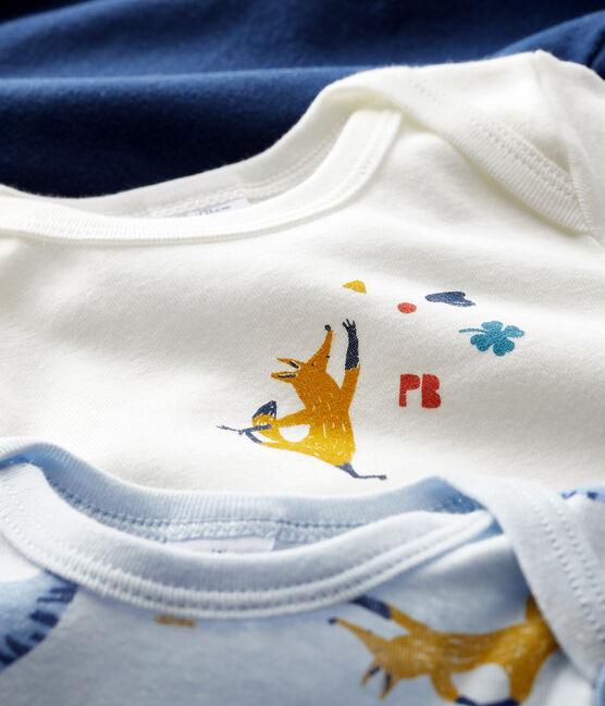Juego de 3 bodis de manga larga para bebé niño lote .