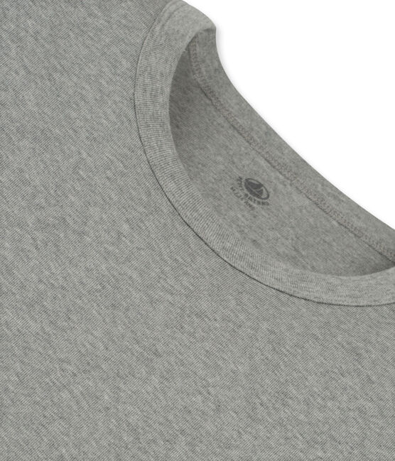 Camiseta de manga corta icónica para hombre gris Subway