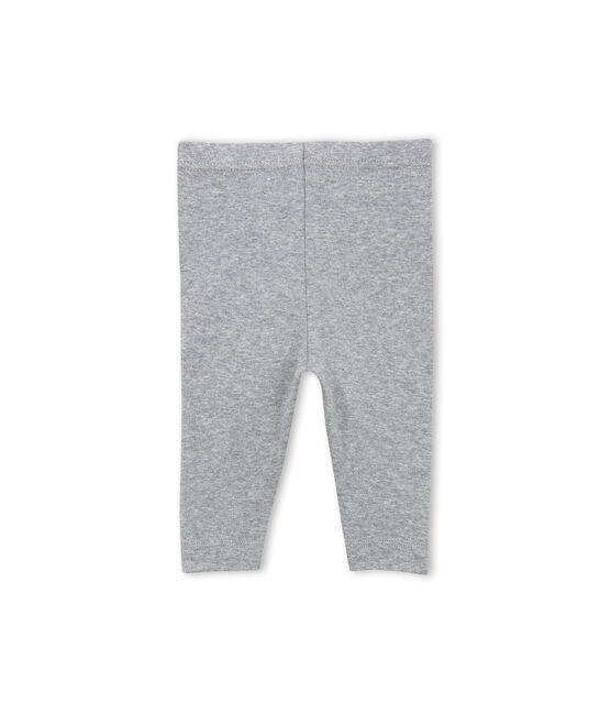 Baby girl plain leggings gris Subway