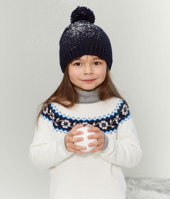 Jersey de niña blanco Marshmallow / blanco Multico