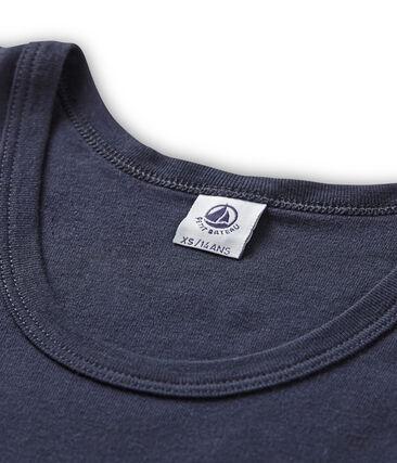 Camiseta de tirantes icónica para mujer azul Smoking