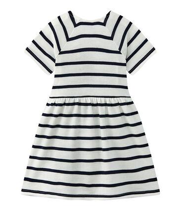 vestido para bebé niña a rayas