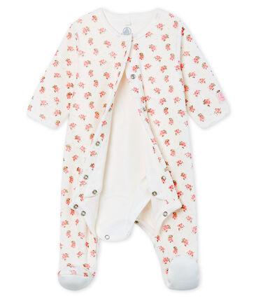 Bodyjama para bebé de niña de terciopelo