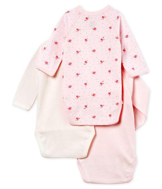 Lote de 3 bodis nacimiento manga larga para bebé unisex lote .