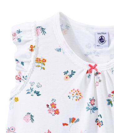 Pijama corto para niña
